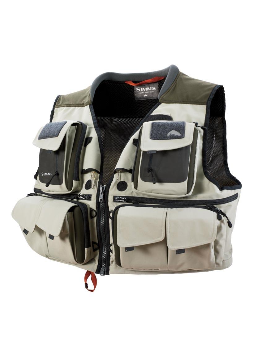 Khaki- Simms G3 Guide Vest