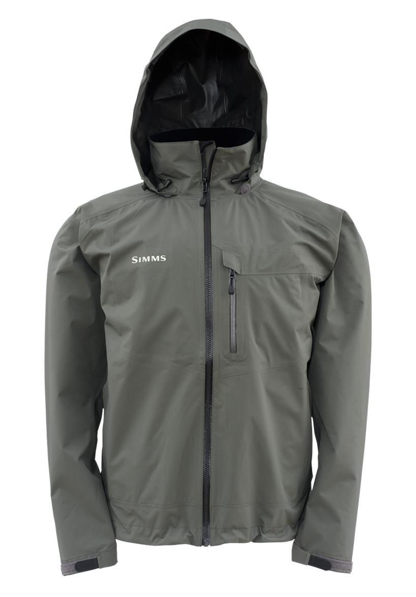 Gunmetal- Simms GORE-TEX Paclite Jacket