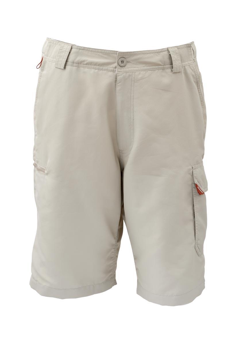 Khaki- Simms Guide Shorts