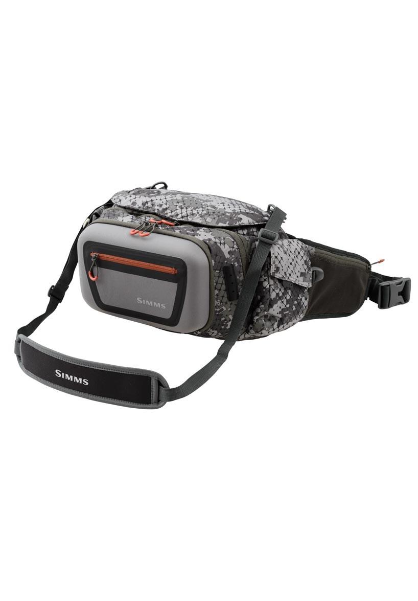 Catch Camo Dark Gunmetal- Simms Headwaters Pro Waist Pack