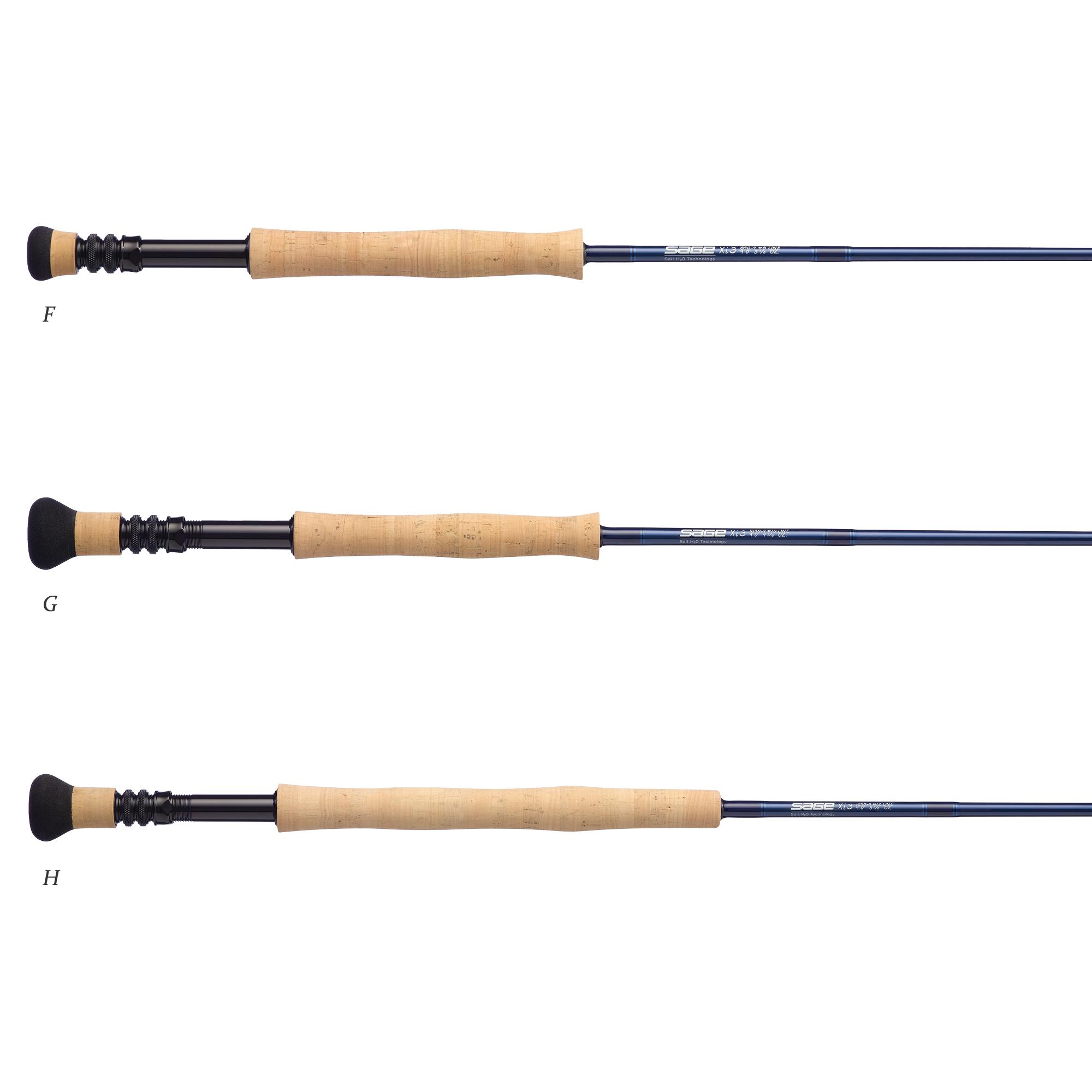 Sage Xi3 Rods