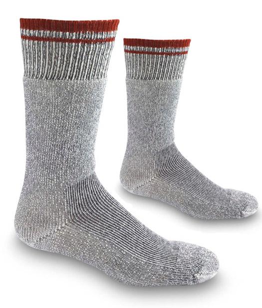 Grey- Simms Boot Sock 2 Pack Socks