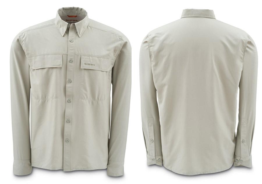 Dark Khaki- Simms EbbTide Shirt