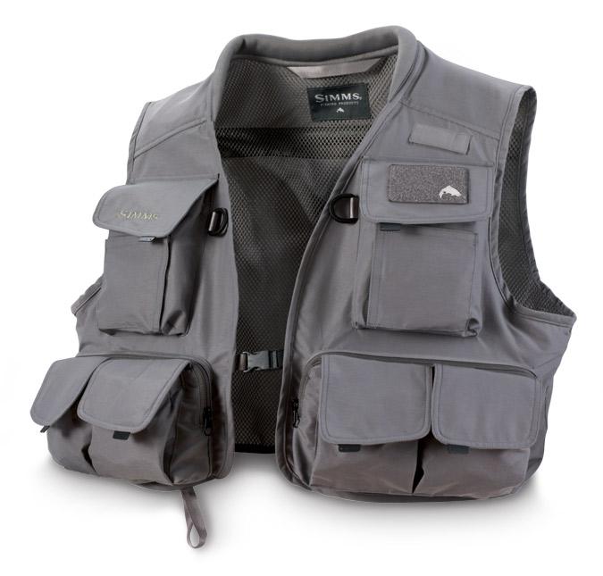Grey- Simms Freestone Vest
