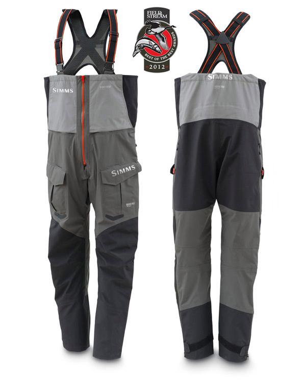 Steel Grey- Simms Pro Dry GORE-TEX Bib