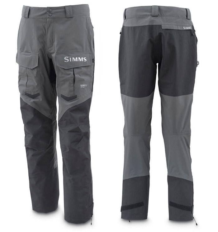 Dark Gunmetal- Simms Pro Dry GORE-TEX Pant
