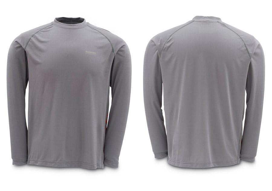 Steel Grey- Simms Solarflex LS T-Shirt