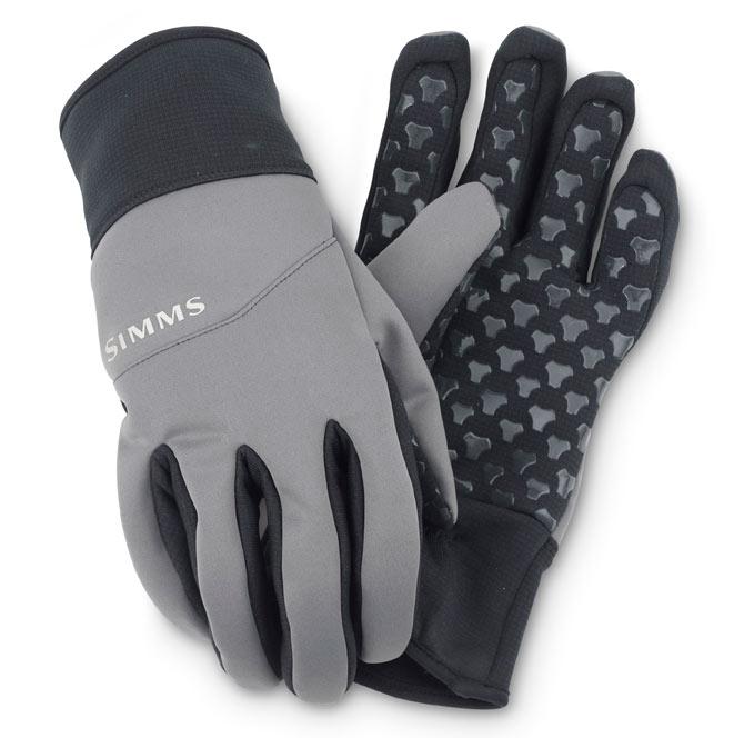 Gunmetal- Simms WINDSTOPPER Flex Gloves