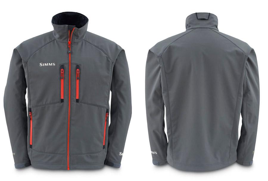 Gunmetal- Simms Windstopper Softshell Jacket