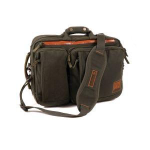 Fishpond Boulder Briefcase  - Peat Moss