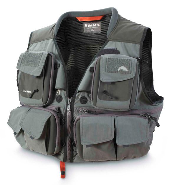 Gunmetal- Simms G3 Guide Vest