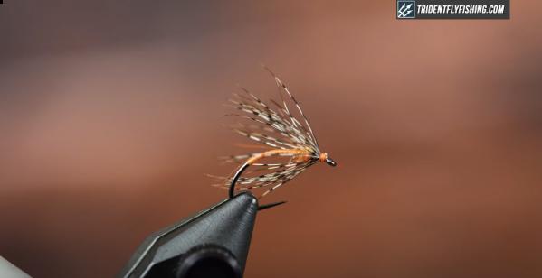 How to Tie the Patridge & Orange Soft Hackle Wet Fly