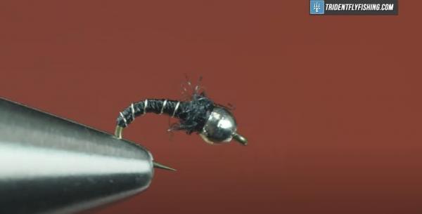 How to Tie the Zebra Midge Fly