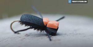 How to Tie a Foam Beetle